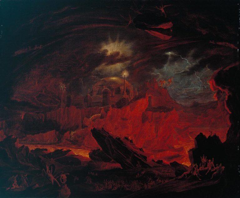 John_Martin_Fallen angels in Hell 1841