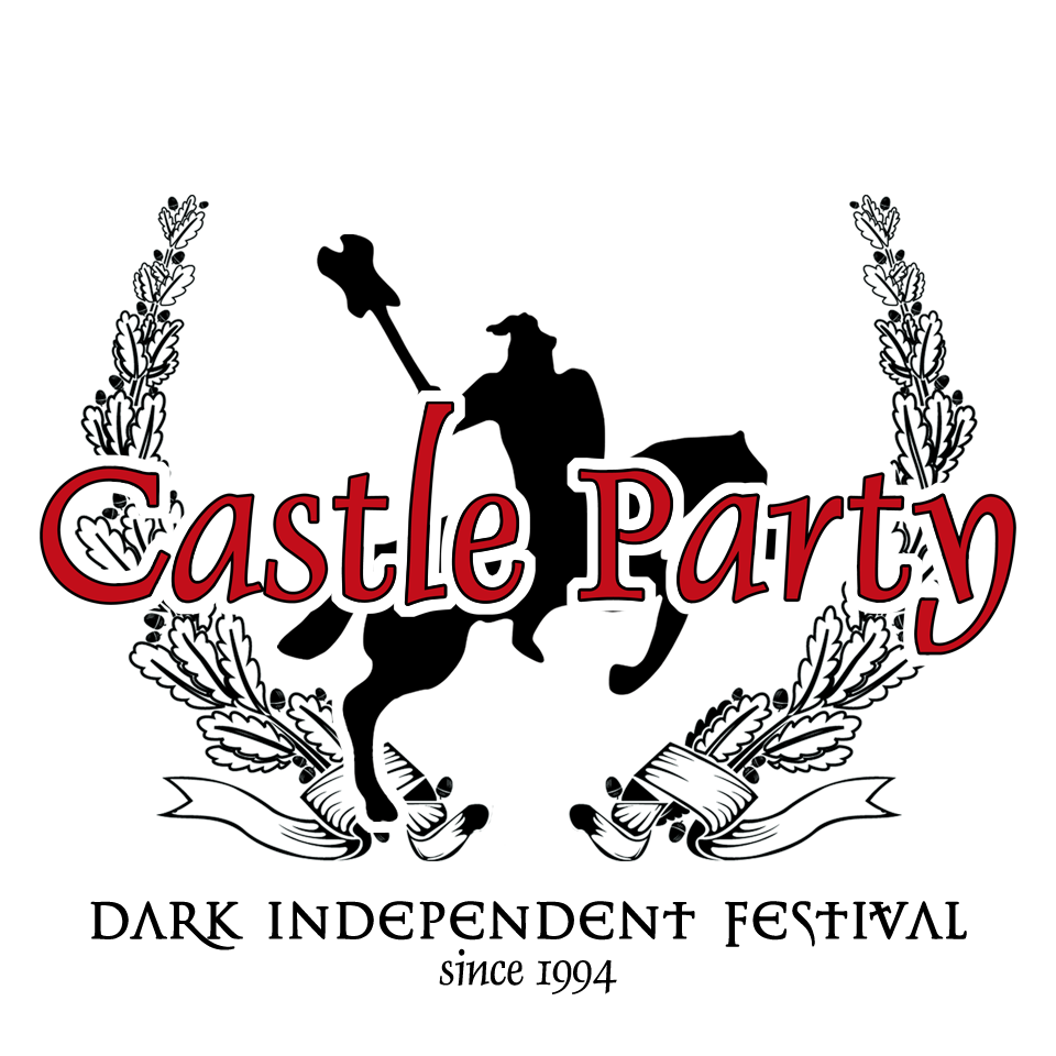 Castle Party Logotyp White