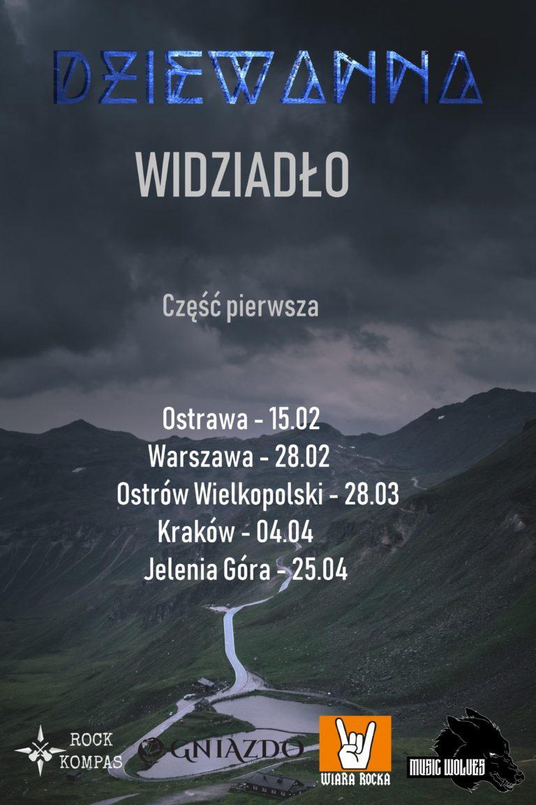Dziewanna - Trasa koncertowa
